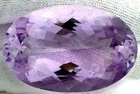 HUGE 135 Carat Oval Natural Amethyst Brazilian Gem Stone Gemstone Natural