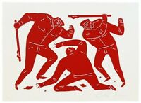 2015 Cleon Peterson Civil Rights S/N Print Obey Giant Shepard Fairey Banksy RED