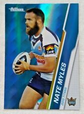 2015 NRL Traders Parallel Card P43 Nate Myles Gold Coast Titans
