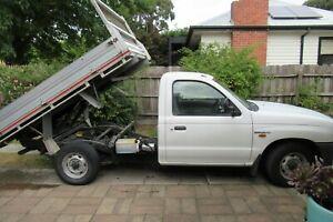 Mazda b2600 Bravo Ute Tipper (Low Milege) (Low Reserve)