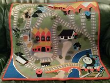 THOMAS Train & Friends RUG Here Comes Thomas Non-Slip PLAY MAT Free Thomas