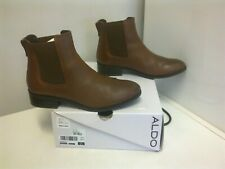 ALDO  Brown Leather Chelsea Boots - size 38,5 / 5,5 UK   £110 - BOXED