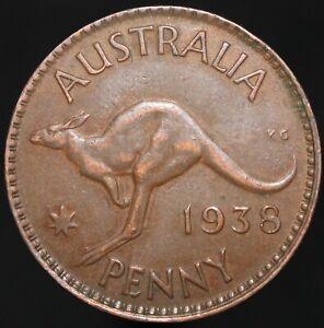 1938 | Australia Penny | Bronze | Coins | KM Coins