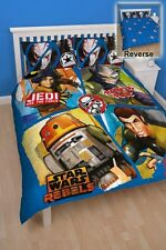 Star Wars Rebels 'Tag' Panel Double Bed Duvet Quilt Cover Set Brand New Gift