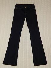 WHITE HOUSE BLACK MARKET – Size 2 – SKINNY FLARE Flap Pocket Dark Jeans – #W695