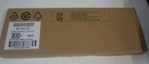 LOT OF 10 - NEW HP PS/2 SLIM  BLACK KEYBOARD WIN 8 (US) 803180-001
