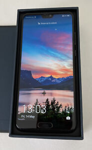 Huawei P20 Black EML-L09 single SIM Unlocked Immaculate Condition
