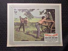 1967 GUNFIGHT IN ABILENE 14x11 Lobby Card #4 G/VG 3.0 Bobby Darin, Emily Banks