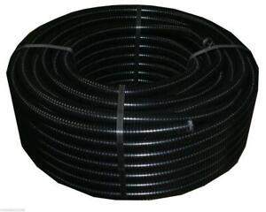 50m Wellrohr M32 Leerrohr Elektrorohr Kabel flexibles Schutzrohr Installation