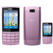 Purple Original Nokia X3-02 3G WCDMA Unlocked Cellphone Bar Style 5MP Bluetooth