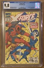 X-Force #11 1st appearance of 'real' Domino Marvel Comics CGC 9.8