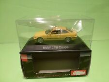 SCHUCO 04062 BMW 325i COUPE - YELLOW 1:43 - EXCELLENT IN BOX