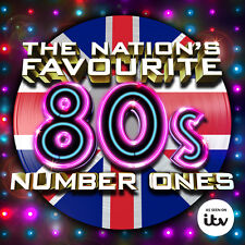 The Nations Favourite 80s Number Ones 3 CD Set 1980s Various