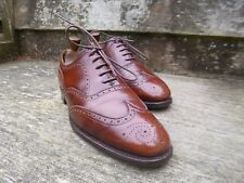 CHEANEY BROGUES – BROWN / TAN – UK 8.5 – WOODSTOCK – GOOD CONDITION