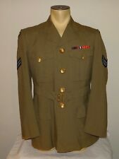 """Mint Vtg 1958 Canada RCAF Air Force Corporal military army jacket 40"""" Small"""