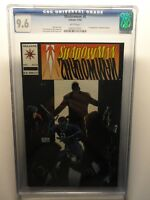 "Shadowman #8 CGC 9.6 NM+ Valiant Comics 1st Appearance Master Darque ""KEY MOVIE"""