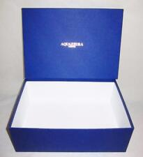 "Genuine Designer Aquazzura Firenze Shoe/Boot Box Empty 8 1/2"" x 12"" x 4"""