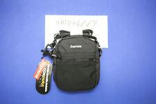Supreme x Cordura Black SS17 Black Small Bag Box Logo