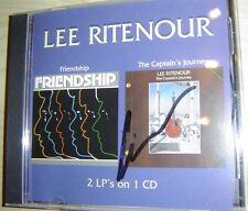 "LEE RITENOUR - FRIENDSHIP & THE CAPTAIN'S JOURNEY ""signiert"" (USA) sehr rar !!!"