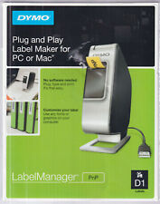 New in Sealed Box Dymo LabelManager PnP Plug and Play Label Maker for PC or MAC
