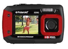 Polaroid Digitalkamera Ie090 18mp Schwarz/rot