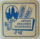 alter Bierdeckel AKTIEN BRAUEREI VILSBIBURG 🍺 A - 8