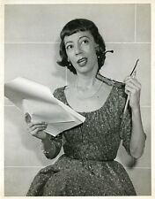 IMOGENE COCA ON TELEPHONE PORTRAIT GRINDL ORIGINAL 1961 NBC TV PHOTO