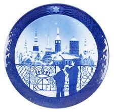 Royal Copenhagen 1988 Christmas Plate Mint Christmas Eve Mint Condition