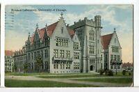 1915 - RYERSON LABORATORY, University of Chicago Illinois Postcard