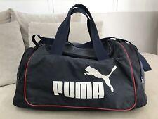 b2df10fe9276 Large PUMA Travel Sport Gym Bag Tote Cross Body Shoulder Bag Navy  E