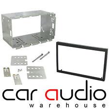 Audi A4 2002 - 2007 Double DIN Facia Fascia Plate & Cage Fitting Kit DFPK-05-07