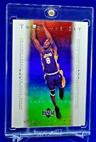 KOBE BRYANT UD TOUCH THE SKY RAINBOW REFRACTOR SP RARE ANGELES LAKERS