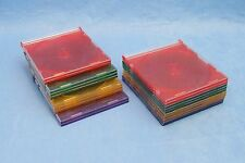 Slim CD DVD Case - Lot of 20 Multi Color