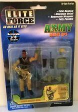 ELITE FORCE ARMY DESERT OPS, ASSAULT COMMANDER 1:18 BLUE BOX TOYS