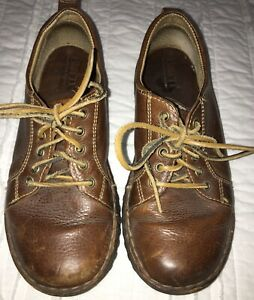 Born Shoes, Brown Leather, Women 7 1/2, Some Wear Seen In Pics