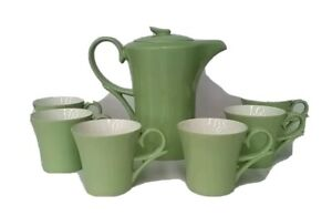 Coffee or tea set 7 piece good for elderly small and light cups