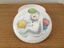The Snowman China Trinket Box & Lid Balloons by Royal Doulton Gift Collection
