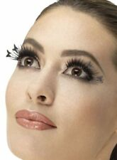 Fever Collection Eyelashes Black Winged Butterfly False Lashes W Adhesive