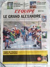 L'Equipe Journal 14/7/2005; Alexandre Vinokourov à Courchevel/ Frigo Exclu/ Gasq