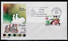 ESPAÑA SOBRE 1º DÍA 1985 2783 SEVILLA FERIA DE ABRIL