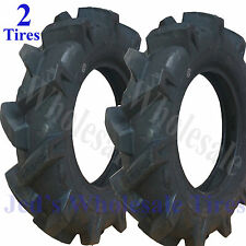 TWO 4.00x10 400x10 4.00-10 400-10 Tiller Equipment R-1 Lug Compact Tractor TIREs