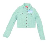 Blinq Womens Size 10 Cotton Blend Green Jacket