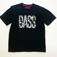 RON BASS MENS 100% AUTHENTIC SIZE LARGE BLACK SHORT SLEEVE TSHIRT 1OF1 RARE NEW
