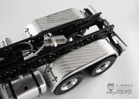 LESU Parts Metal Rear Fender B for 1/14 Scale RC DIY TAMIYA 3348 Truck Car Model