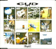 CUD Oh NoWon't Go w/ 3 UNRELEASED TRX Europe CD Single SEALED USA Seller 1991