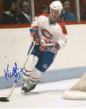 KEITH ACTON signed MONTREAL CANADIENS 8X10 photo w/ COA