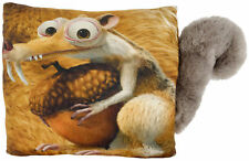 Original Ice Age 5 - Scrat 3D Plüsch Kissen Dekokissen Kuschelkissen 40 x 40 cm