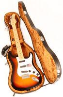 Douglas EGC-450 ST Black / Gold Case fit Fender Stratocaster Tele & Rickenbacker
