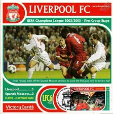 Liverpool 2002-03 Spartak Moscow (Emile Heskey) Football Stamp Victory Card #206