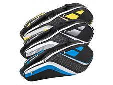BABOLAT TEAM LINE 3 Racchetta,Nero Giallo tennis Borsa,anche per Padel ,Squash